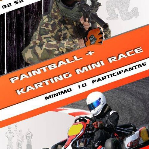 Pack Paintball & Kart