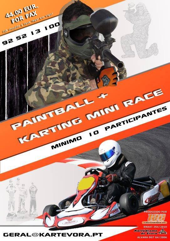 Pack Paintball & Kart